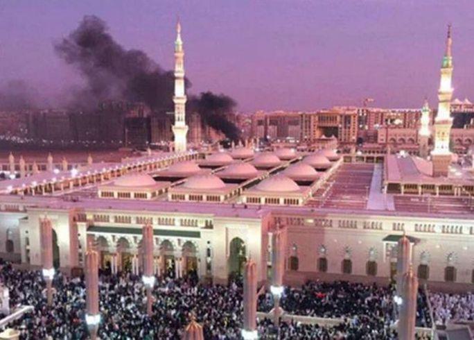 Đền thờ bị tấn công tại Medina là một trong các thánh địa của người Hồi giáo. Ảnh: EPA