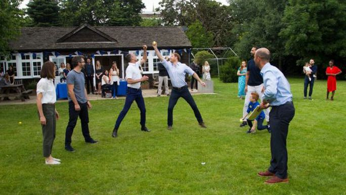 Hình ảnh tại sự kiện của Hoàng tử Harry và khách mời. Ảnh: Royal Foundation