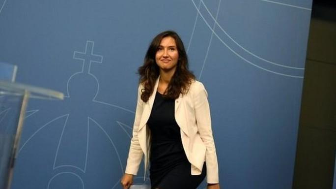Nữ Bộ trưởng Giáo dục Thuỷ Điển Aida Hadzialic. Ảnh: Reuters