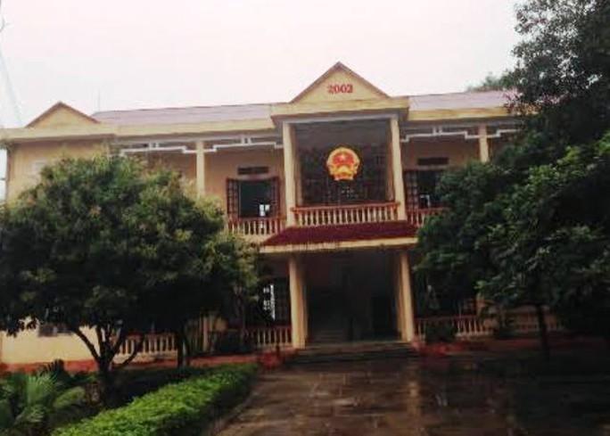 Công sở xã Quảng Trạch, nơi ông Hoàng Văn Phúc, đang công tác bị tố xài bằng giả