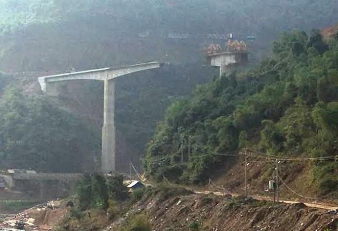 Cầu Suối Quanh, nơi xảy ra vụ tai nạn khiến 4 công nhân thiệt mạng
