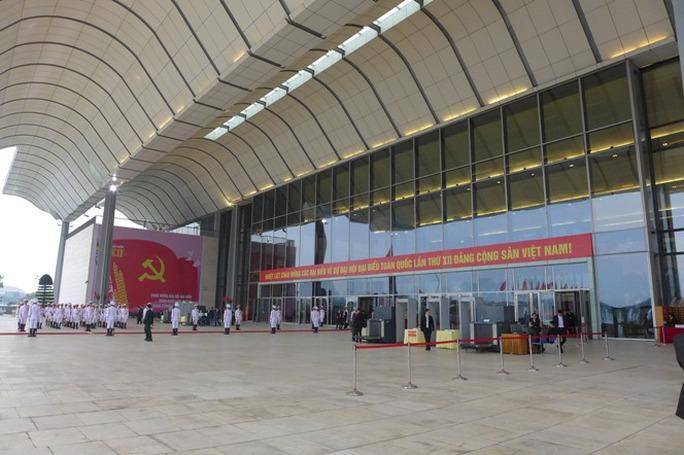 Trung tâm Hội nghị Quốc gia Mỹ Đình, nơi diễn ra Đại hội Đảng XII