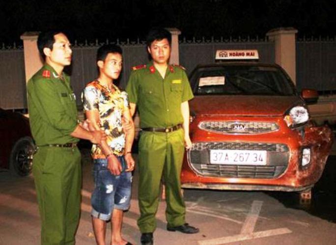 Nguyễn Thành Chung, nghi can gây ra vụ giết tài xế taxi cướp tài sản xảy ra rạng sáng 9-4 tại xã Hải Hà, huyện Tĩnh Gia, tỉnh Thanh Hóa