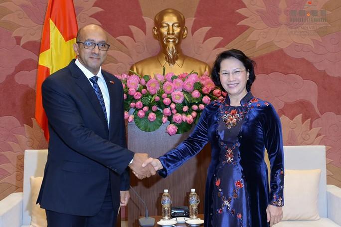 Chủ tịch QH tiếp khách quốc tế