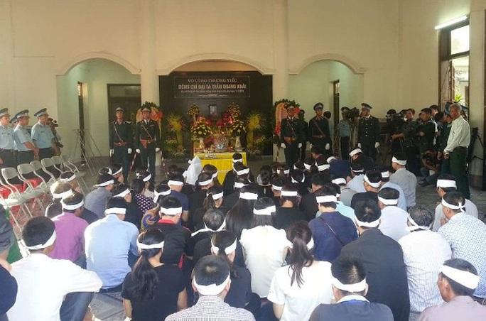 Lễ truy điệu đại tá, phi công Trần Quang Khải