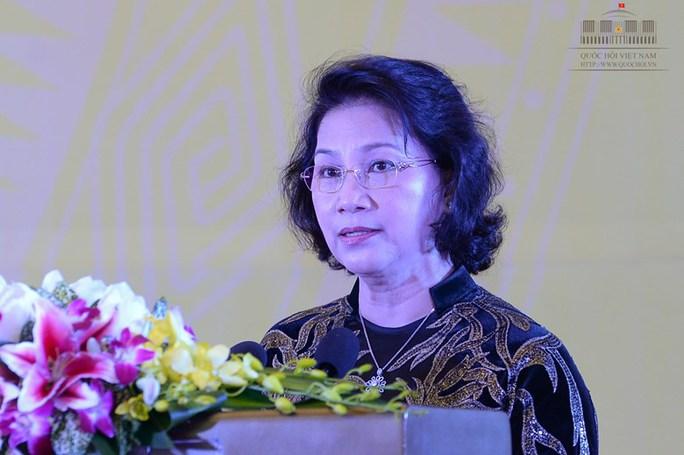 Chủ tịch QH phát biểu tại sự kiện này