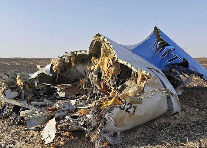 Chi nhánh ở Sinai của IS đã nhận trách nhiệm vụ bắn rơi máy bay Nga hồi tháng 10-2015. Ảnh: EPA