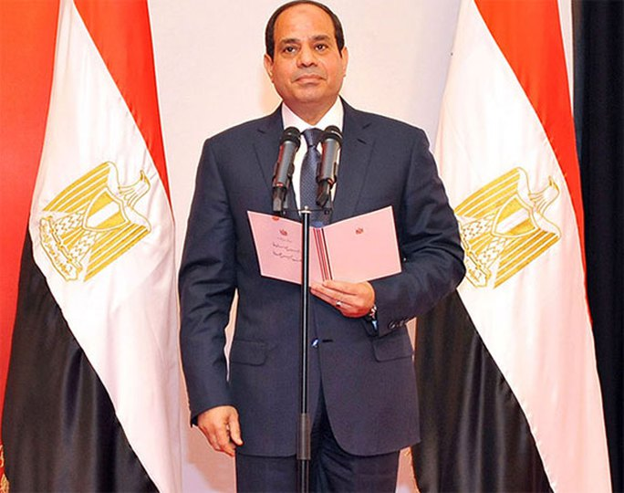 Đây không phải lần đầu tiên tòa án ở Ai Cập đưa ra bản án gây sốc trong khi Tổng thống nước này - ông Abdel Fattah al-Sisi đang ỗ lực lập lại trật tự. Ảnh: Reuters