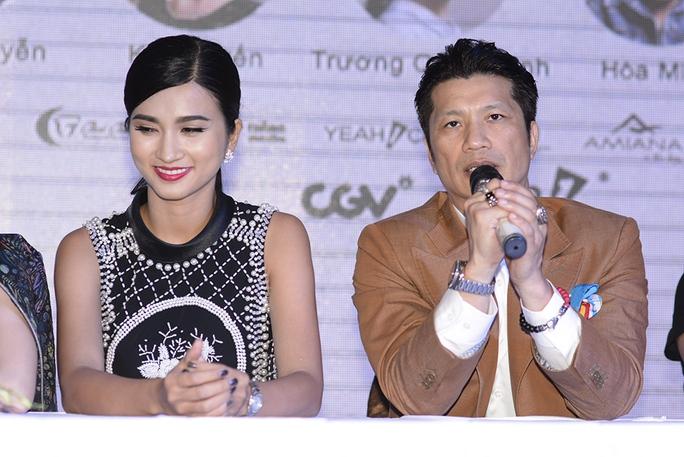 Dustin Nguyễn và Kim Tuyến