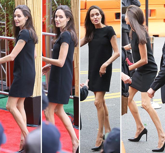 Angelina Jolie quá gầy