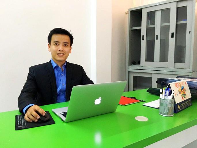 CEO Phạm Đức Long đã khởi nghiệp với những đơn hàng 50 nghìn đồng. Ảnh: Chánh Trung