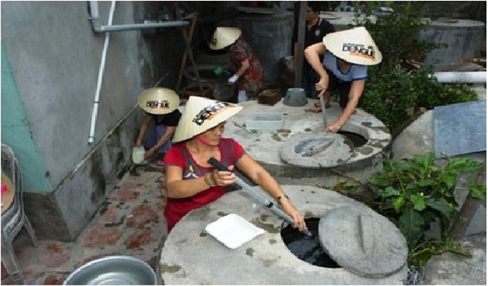 Nuôi muỗi mang tác nhân Wolbachia ở đảo Trí Nguyên, TP Nha Trang, Khánh Hòa- ảnh Viện VSDT TW