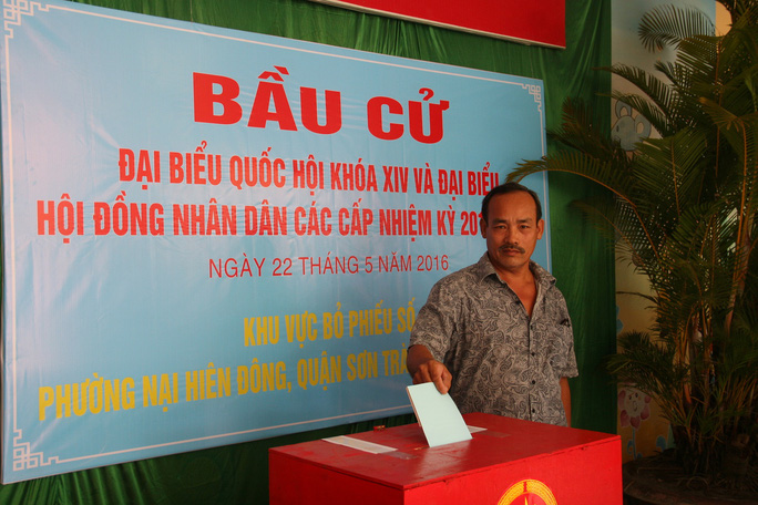 Có 99,8 % cử tri TP Đà Nẵng đi bầu cử