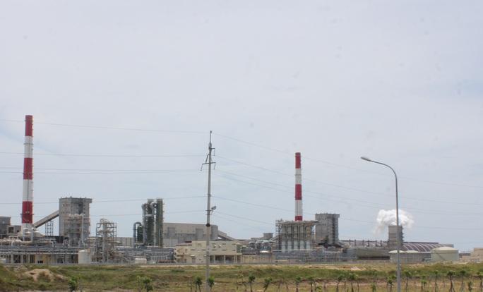 Nhà máy Formosa tại khu kinh tế Vũng Áng (Hà Tĩnh)