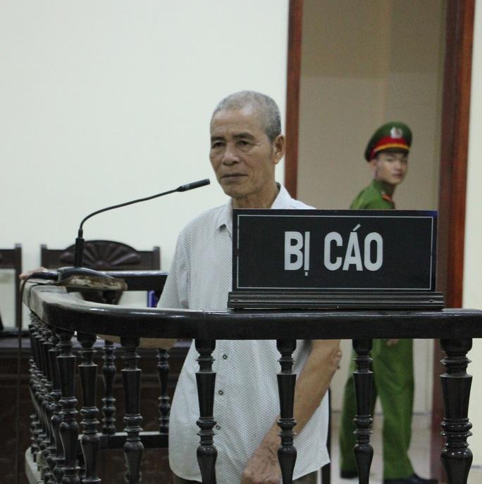 Bị cáo Uông Nhật Được tại phiên tòa.
