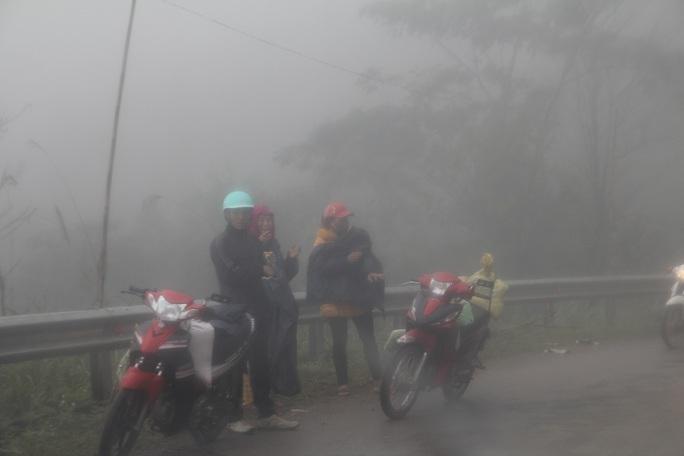 Nhiệt độ thấp, sương mù dày đặc khiến mọi hoạt động của người dân ở Nghệ An bị đảo lộn