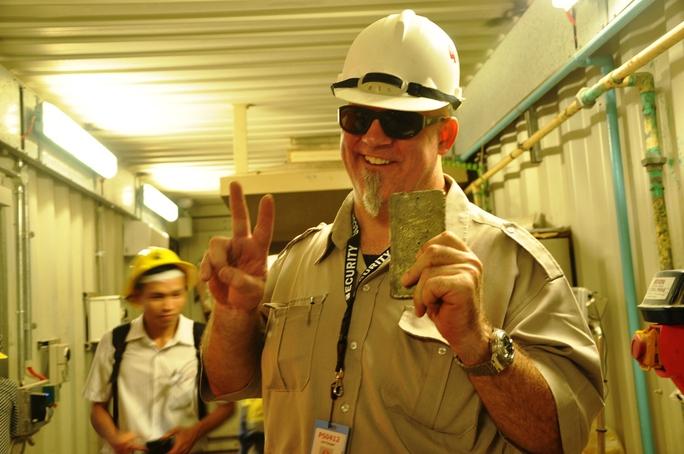 Besra đã đào 7 tấn vàng, hầu hết bán ra nước ngoài...