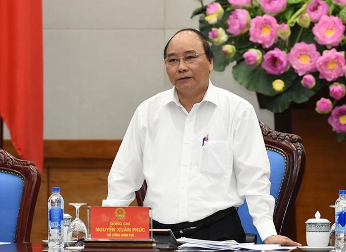 Thủ tướng Nguyễn Xuân Phúc chủ trì phiên họp Thường trực Chính phủ đầu tiên