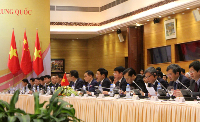 Đoàn Việt Nam do Phó Thủ tướng, Bộ trưởng Bộ Ngoại giao Phạm Bình Minh làm trưởng đoàn