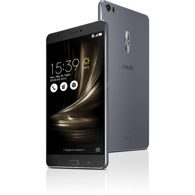 Zenfone 3 Ultra là smartphone đầu tiên được trang bị chip xử lý màn hình riêng biệt.