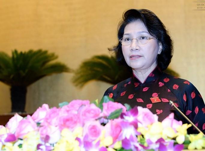 Bà Nguyễn Thị Kim Ngân được giới thiệu làm Chủ tịch QH khoá XIV