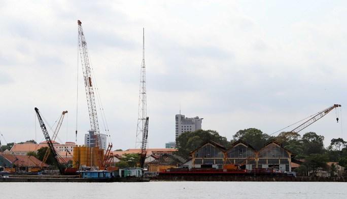 Nhà máy Ba Son, chứng nhân của một thời lịch sử đang được di dời sang nơi ở mới để nhường cho các công trình dân sự