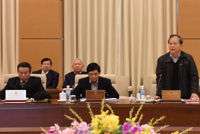 """Chủ nhiệm Ủy ban Pháp luật Phan Trung Lý cho rằng nhiều lĩnh vực vẫn còn tình trạng """"xin - cho"""""""
