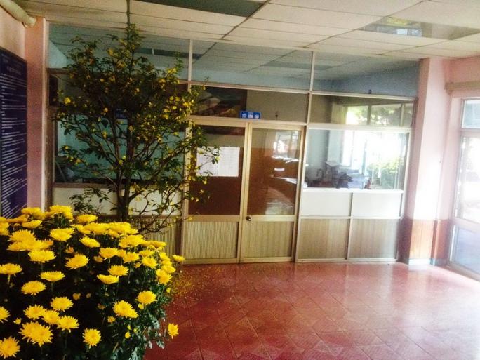 Phòng Tiếp dân Sở Tài chính tỉnh Đắk Lắk đóng cửa vì cán bộ đi chúc Tết Ảnh: Cao Nguyên