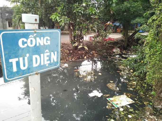 Rác tràn ngập rạch gây ô nhiễm