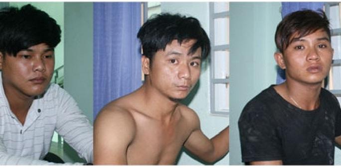 Ba đối tượng trong nhóm cướp tại cơ quan công an