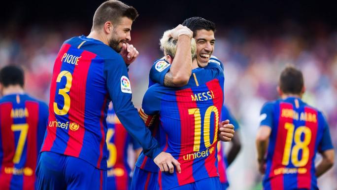 Barcelona khởi đầu La Liga 2016-2017 ấn tượng bằng chiến thắng 6-2 trước Real Betis
