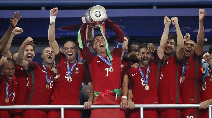 Ronaldo và các đồng đội trở thành hiện tượng kỳ lạ nhất của Euro 2016 khi là đội duy nhất hòa 6/7 trận ở 90 phút nhưng sau đó đăng quang