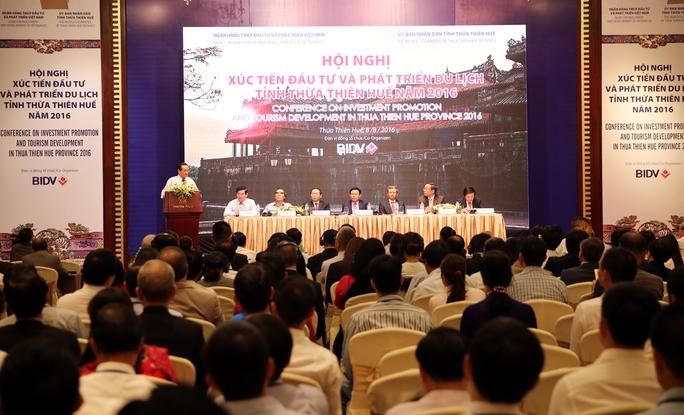 500 doanh nghiệp đến dự hội nghị Xúc tiến đầu tư và phát triển du lịch Thừa Thiên Huế - Ảnh: Thành Chung