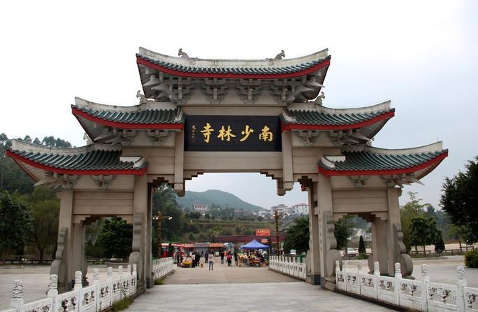 Nam Thiếu Lâm Tự ở Tuyền Châu được tôn tạo Ảnh: INTERNET