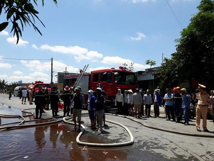 Cháy cửa hàng vàng mã, 2 bé trai thiệt mạng