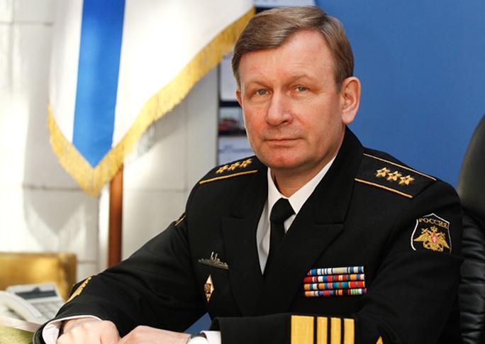Sự ra đi của đô đốc Viktor Chirkov được cho là có liên quan đến động thái trừng phạt mạnh tay đối với ông Kravchuk. Ảnh: Bộ Quốc phòng Nga