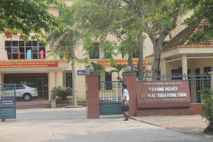 Sở Nông nghiệp và Phát triển nông thôn tỉnh Nghệ An là nơi đang có tới 6 phó giám đốc Ảnh: ĐỨC NGỌC