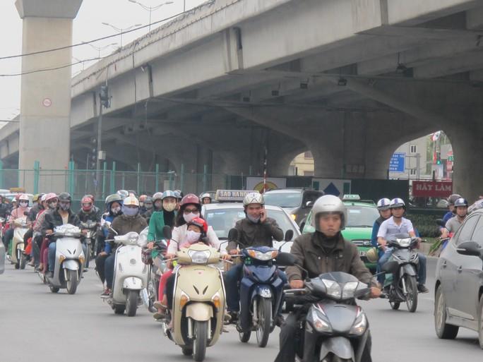 Tại Hà Nội và TP HCM đã có gần 12 triệu xe máy đăng ký hoạt động
