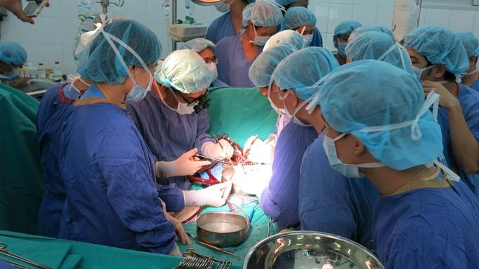 Các bác sĩ Việt Nam hoàn toàn làm chủ các kỹ thuật ghép tạng phức tạp như ghép tim và gan