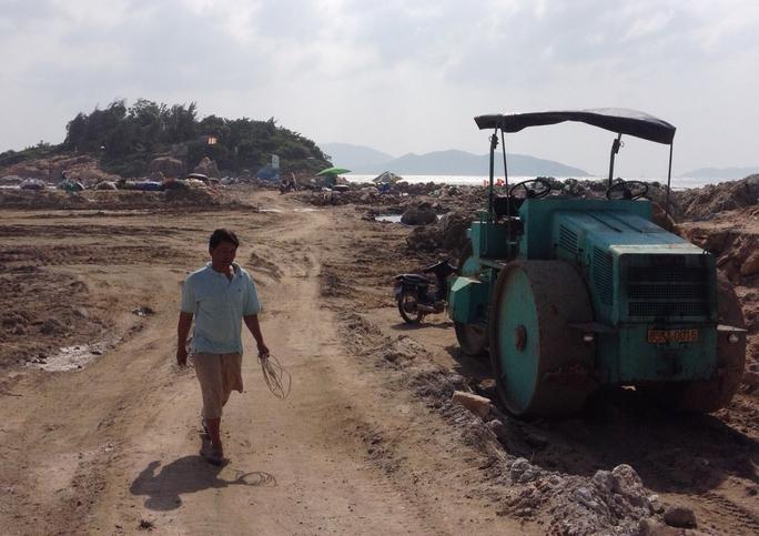 Dự án Nha Trang Sao đổ đất lấn vịnh Nha Trang trái phép gần 23.000 m2 mới bị phát hiện