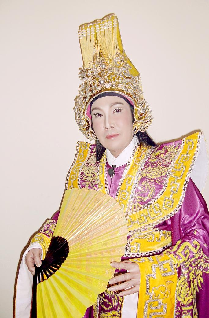 NSƯT Vũ Linh trong vở Chung Vô Diệm