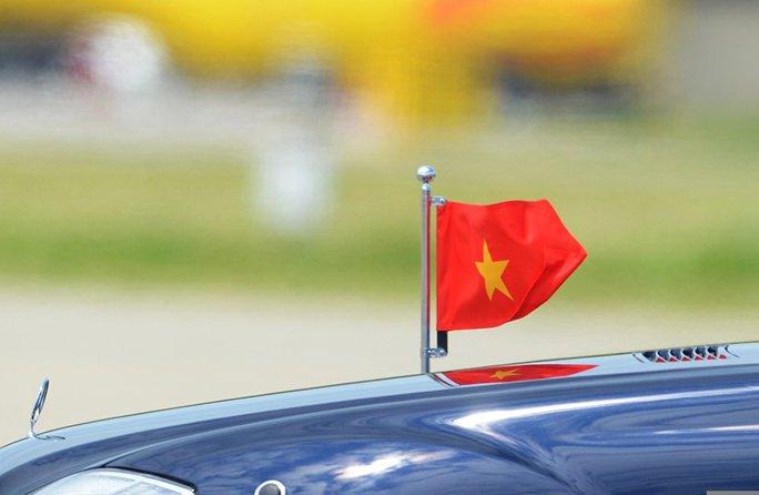 Chuyên xa của nước chủ nhà Nga chở Thủ tướng Nguyễn Xuân Phúc