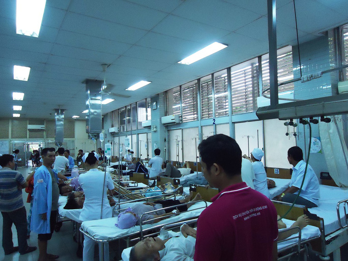 Hầu như này nào Bệnh viện Chợ Rẫy cũng tiếp nhận cứu chữa những trường hợp nguy cấp.