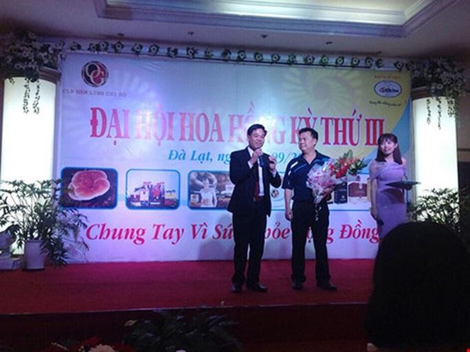 Nguyễn Thế Anh (bìa trái) bị bắt giam để điều tra về hành vi lừa đảo chiếm đoạt tài sản (ảnh: phucgiabao.com)