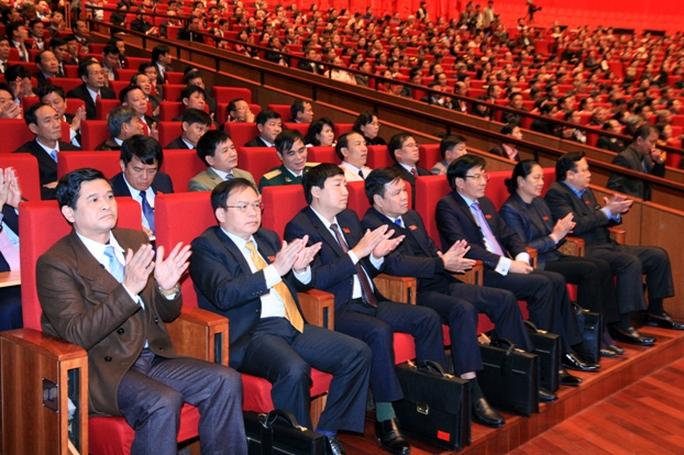 Các đại biểu dự Đại hội XII
