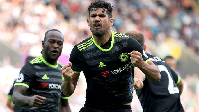 Tiền đạo Costa có dầu hiệu hồi sinh dưới thời Conte