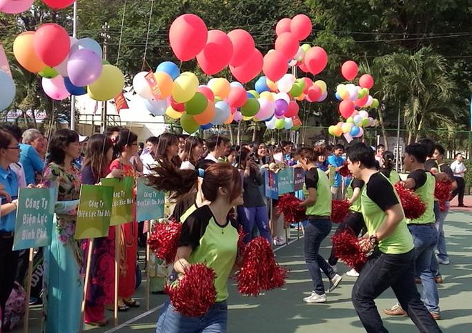 Hơn 600 CNVC-LĐ dự hội thao