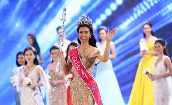 Đỗ Mỹ Linh đăng quang ngôi vị Hoa hậu Việt Nam 2016