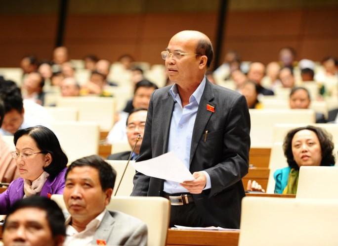 ĐB Đỗ Văn Đương tỏ ý lấy làm tiếc khi mua bán chức quyền chưa được đưa vào Bộ Luật Hình sự