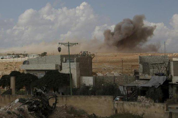 Nga không kích hỗ trợ đồng minh Syria tái chiếm lại các khu vực mà IS kiểm soát. Ảnh: Reuters